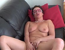 Mature masturbation and orgasm