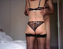 Other Nurse in sexy lingerie for hidden cam
