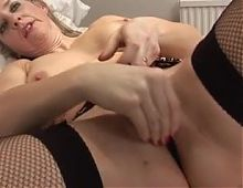 Sexy milf playing with herself
