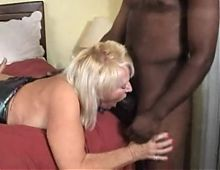 Mature Blonde Used By Blacks